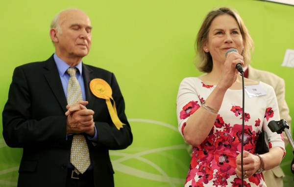 Vince Cable after losing his seat in 2015