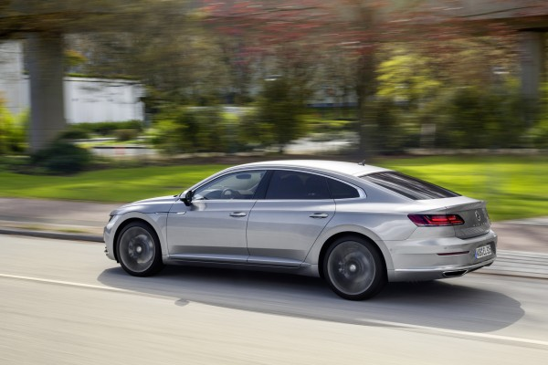 The Arteon's ride errs on the firm side