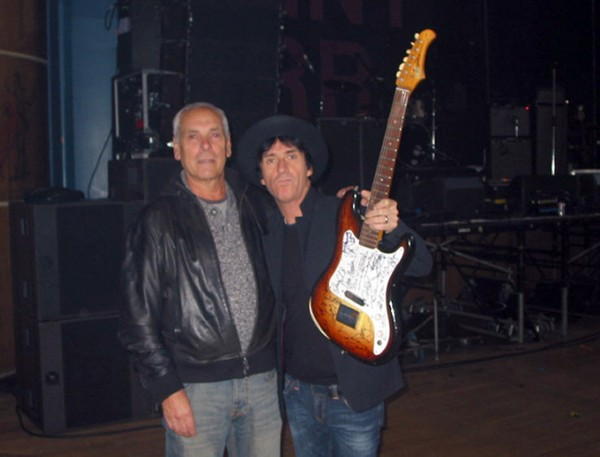 Keith Stubbs and Johnny Marr