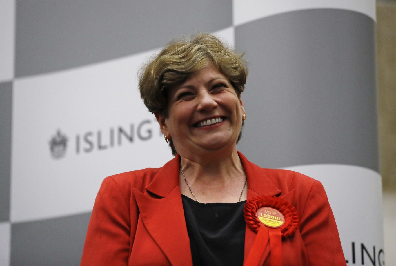 Labour's Emily Thornberry smiles after she retained her seat in the General Election