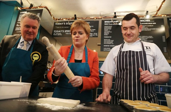 John Nicolson and Nicola Sturgeon