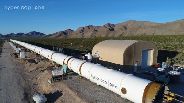 Hyperloop One test track