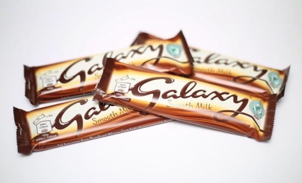 Galaxy bars.