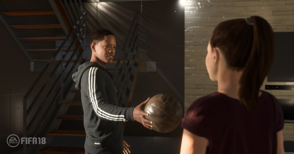 Fifa 18 feature, The Journey