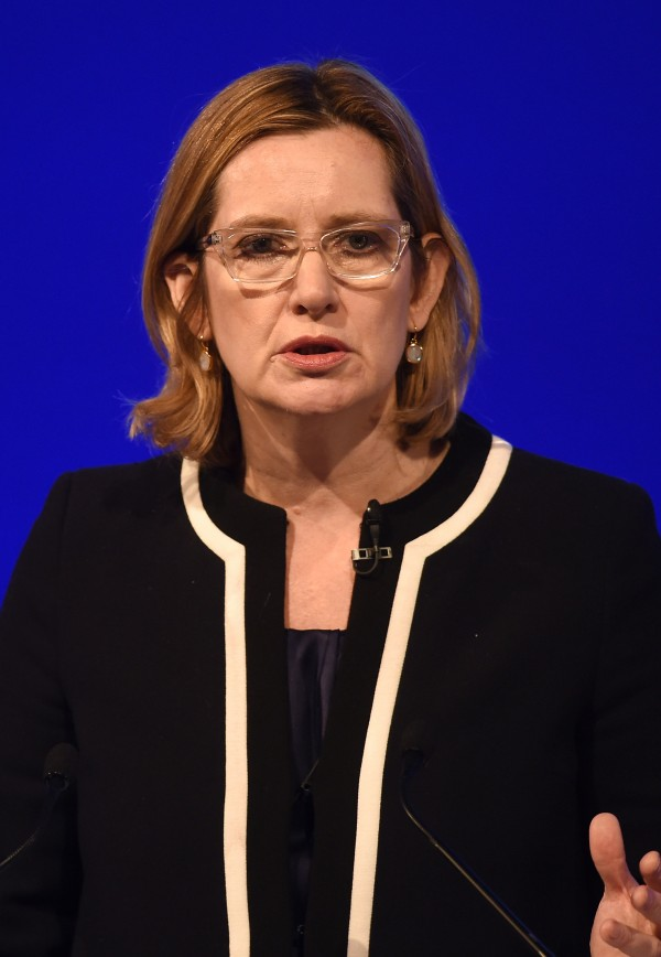 Home Secretary Amber Rudd (Joe Giddens/PA)