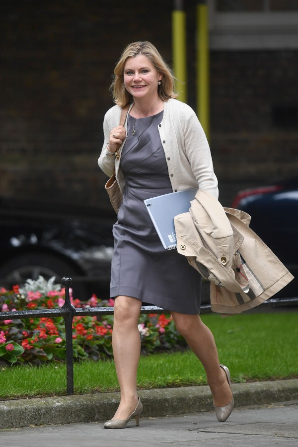 Justine Greening arrives at 10 Downing Street (Victoria Jones/PA)