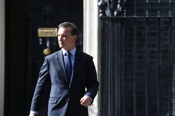 alun cairns leaves Downing Street (David Mirzoeff/PA)