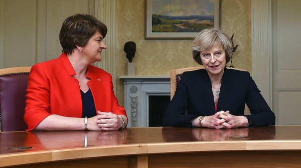 Tory-DUP deal announcement 'delayed' due to London blaze