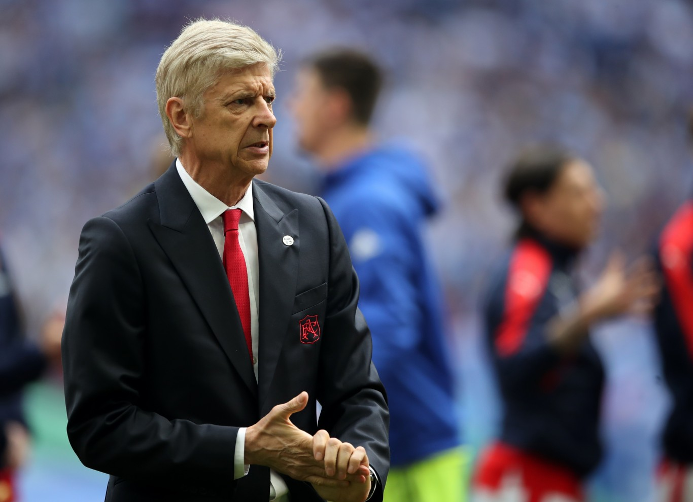 Arsenal manager Arsene Wenger during the Emirates FA Cup Final