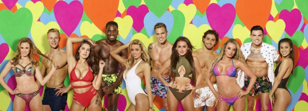 The contestants on Love Island 2017