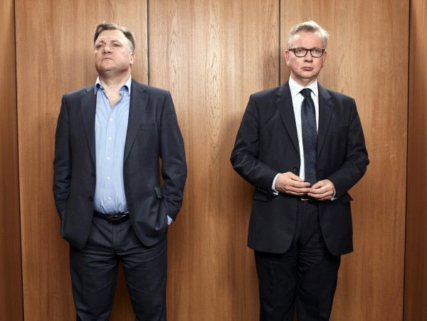 Ed Balls and Michael Gove (Channel 4)