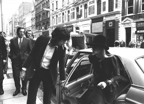 Anita Pallenberg with Keith Richards (PA)