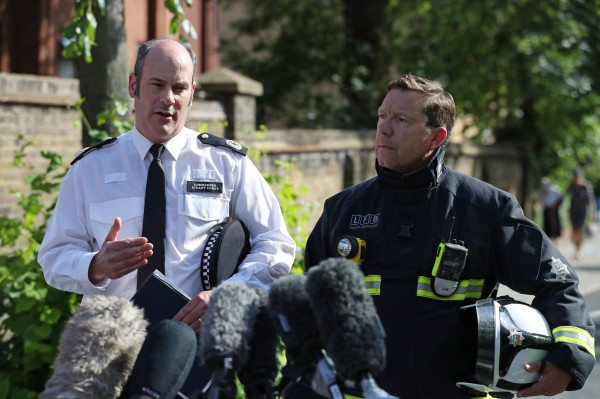 Firefighters yet to fully search London tower destroyed by fire