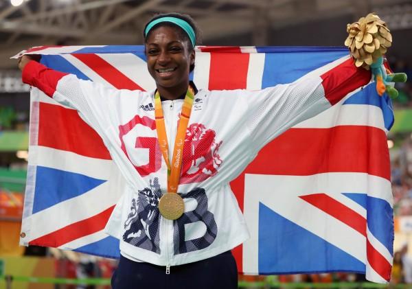 Team GB Paralympic champion Kadeena Cox