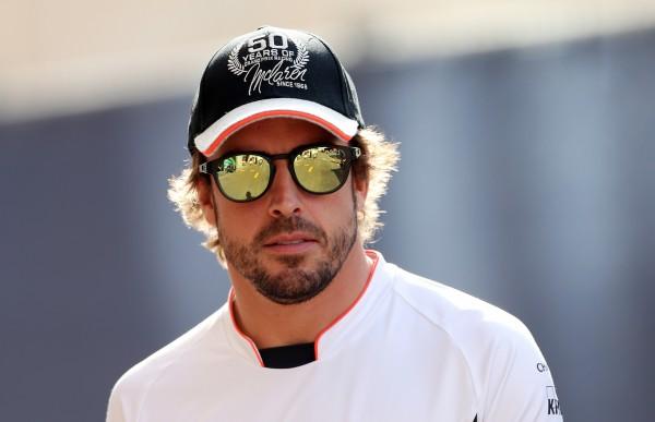 McLaren Formula One driver Fernando Alonso