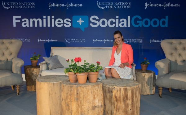 Charlie at the UNF Families + Social Good event.