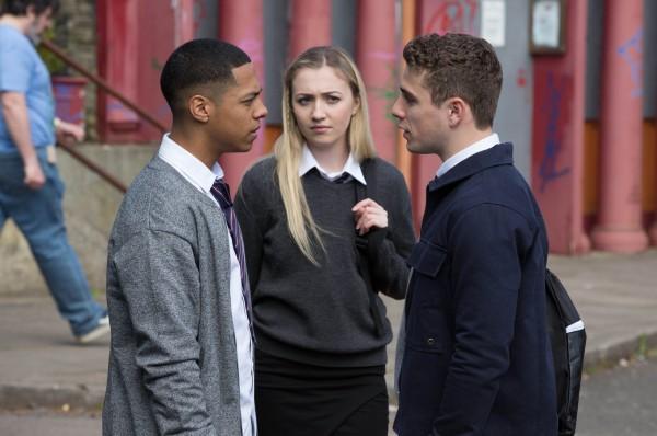 EastEnders Keegan, Louise and Travis