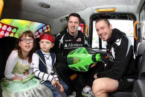 The Edinburgh Taxi Trade charity event in 2012
