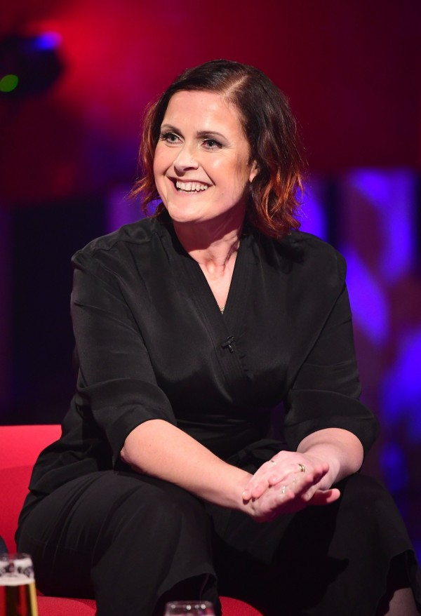 Alison Moyet filming Graham Norton's show (Ian West/PA)