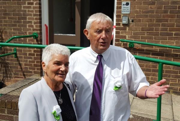 Jo Cox's parents