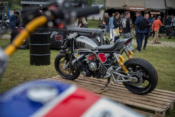 Custom bikes celebrated Honda's motorcycle history