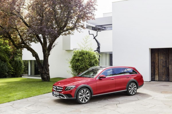 The E-Class All Terrain starts at £58,880