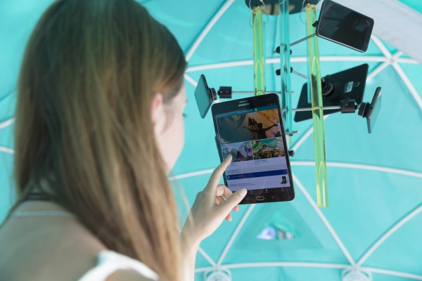 4GEE smart tent & The first ever u0027smart tentu0027 will be pitched at this yearu0027s ...