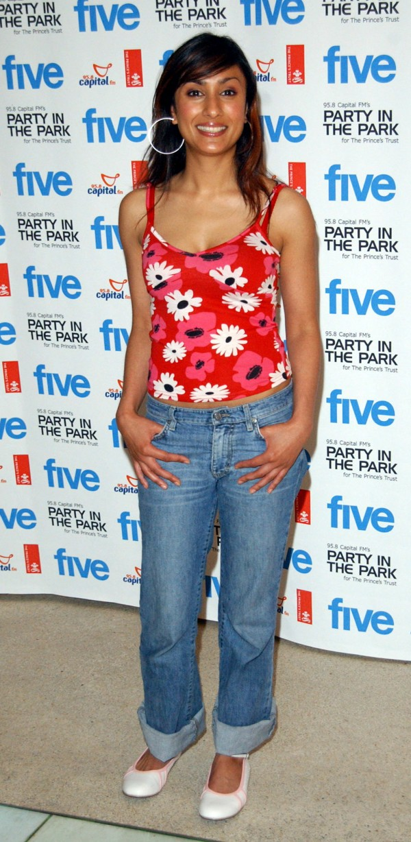 In 2003 as a presenter of the Smash Hits chart (Myung Jung Kim/PA)