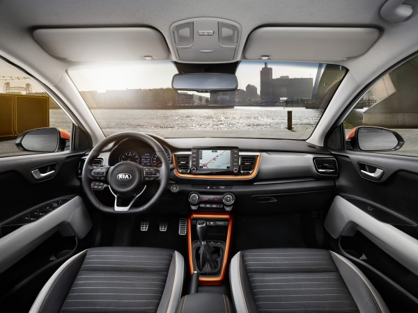 The interior benefits from a host of technologies