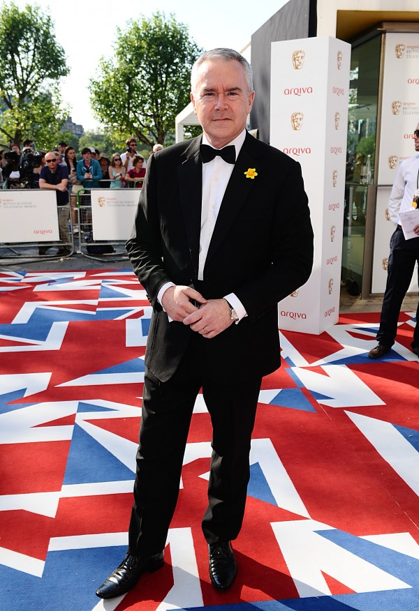 Huw Edwards arriving for the 2012 Arqiva British Academy Television Awards (Ian West/PA)