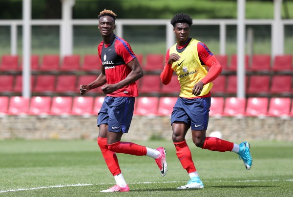 Tammy Abraham and Kortney Hause
