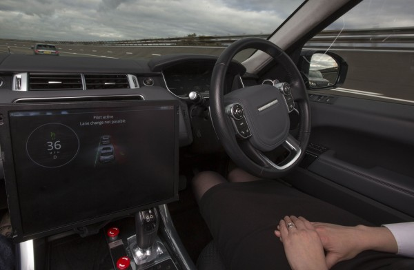 Autonomous cars trial steps up a gear
