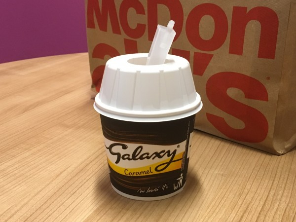 A McDonald's McFlurry