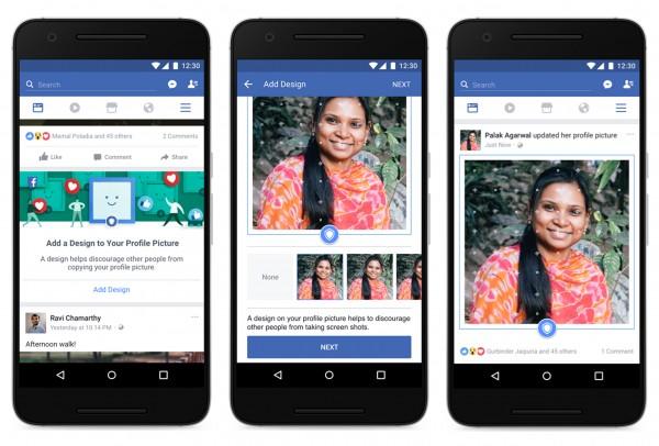 Facebook profile picture guide.