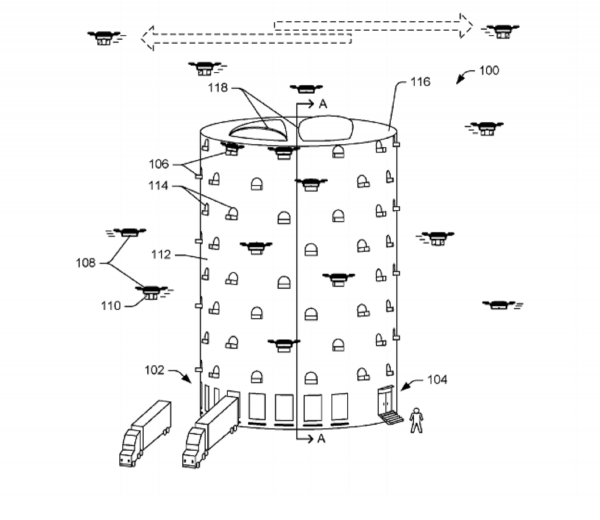 Amazon Patent Reveals Drone Delivery