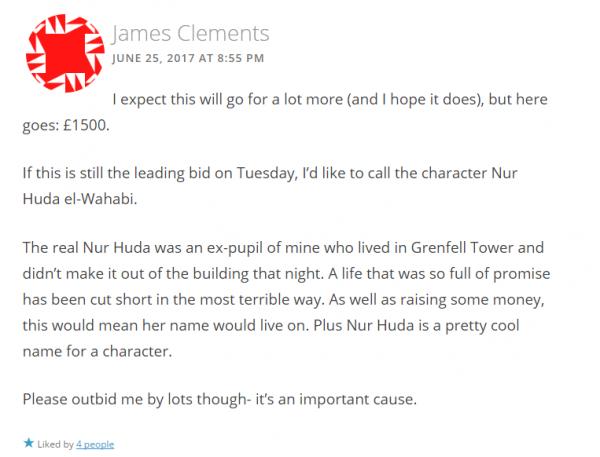 Clements' comment