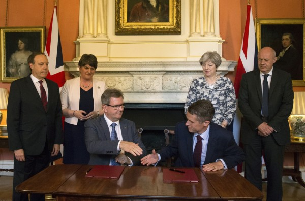 Tory DUP agreement
