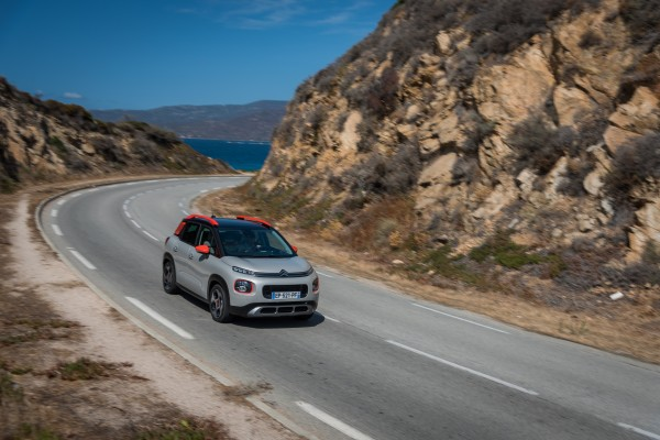The Citroen C3 Aircross does well both on and off road