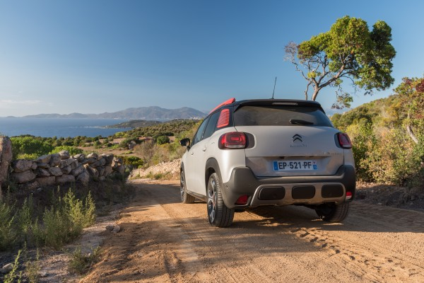 The new C3 Aircross can tackle rougher surfaces