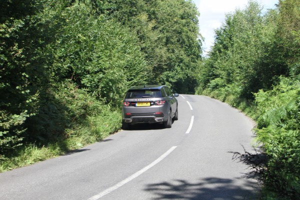 Land Rover Discovery Sport (Blackball Media/PA)