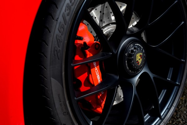 Black alloy wheels help the GTS stand out