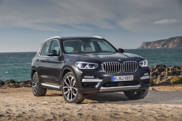 The X3's front end has been lightly revised over the previous version