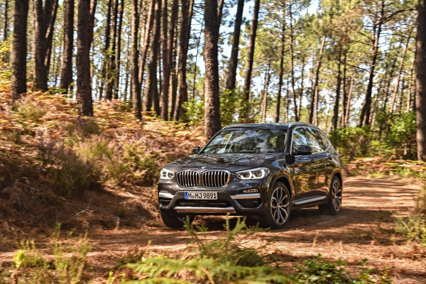 The X3 proved capable off-road