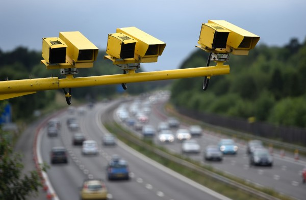 Half of Britain's speed cameras are turned off