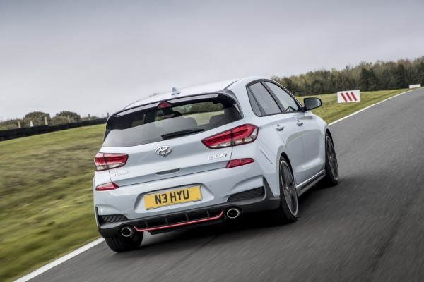 The i30 N's exhaust system gives the car a lot of character