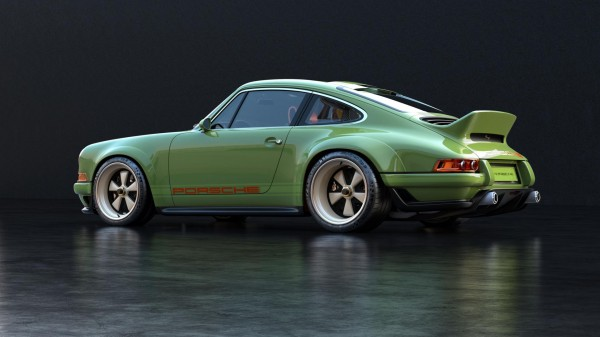 Singer-reimagined Porsche 911