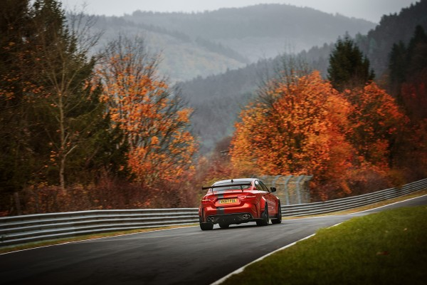Record Nurburgring lap for Jaguar XE Project 8 saloon