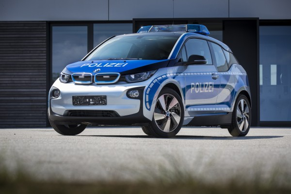 BMW's i3 is an ideal low-emissions police car alternative