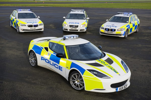 The Evora proved to be a lightweight police car alternative