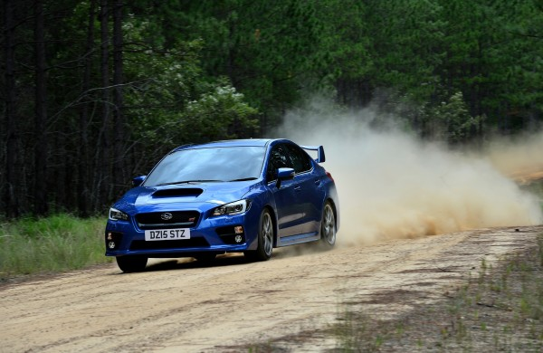 The WRX features a lot of rally-bred technology